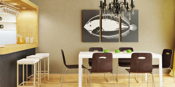 Place wall decors and window treatments