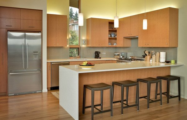 U-Shaped Kitchen Layouts