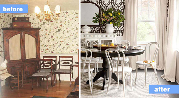 A Distinctive Dining Room Transformation