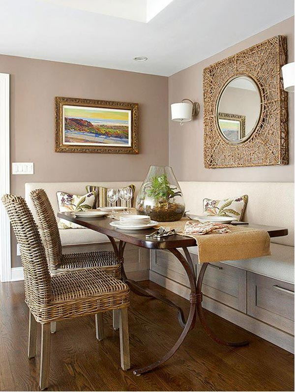 3. Neutral Dining Nook