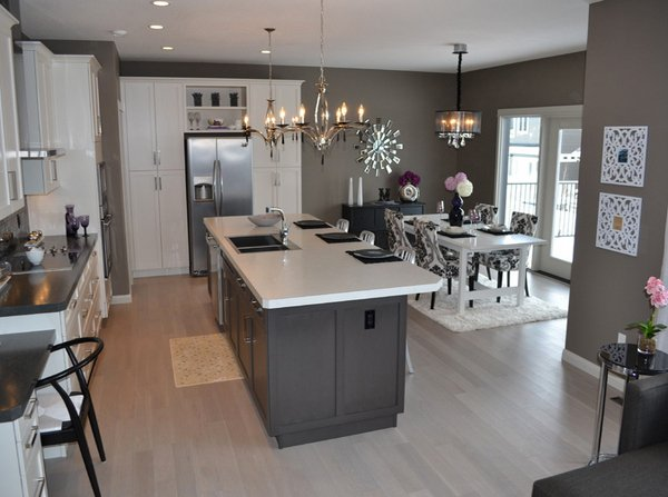 light-colored wooden floors