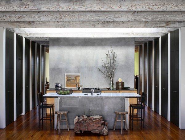 barn-like ceiling